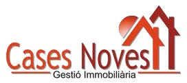 Logotipo inmobiliaria Cases Noves